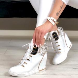 Carinii Carinii Sneakersy Damskie B4518 L94 F81 000 B88